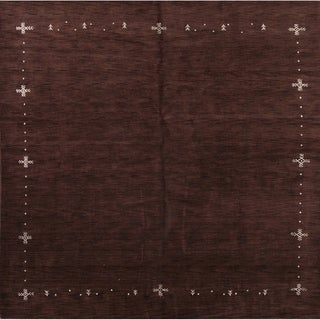"The Curated Nomad Sunterra Hand-knotted Wool Heirloom Item Area Rug - 10'1"" x 9'11"" square"