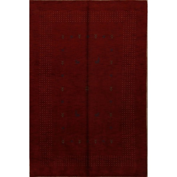 "The Curated Nomad Patencio Handmade Brown Wool Heirloom Item Area Rug - 9'9"" x 6'6"""
