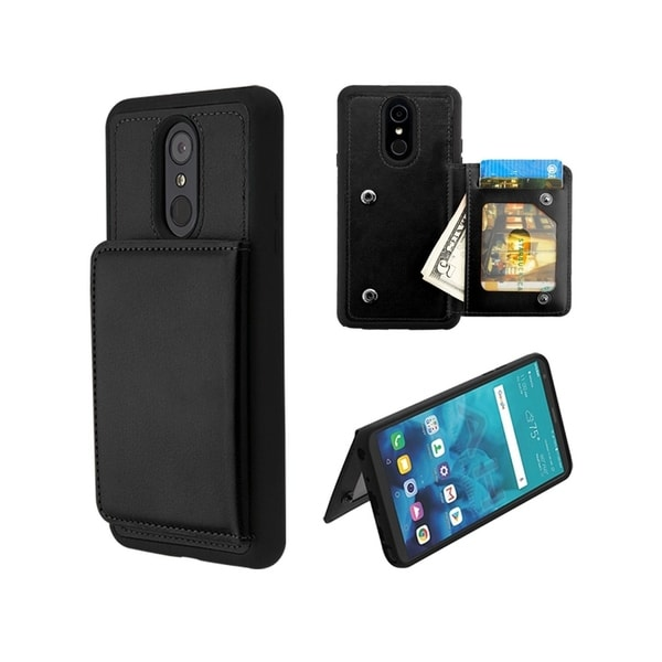 the latest 12290 ab7a5 Shop Insten Wallet Executive Protector TPU Rubber Candy Skin ID/Card ...