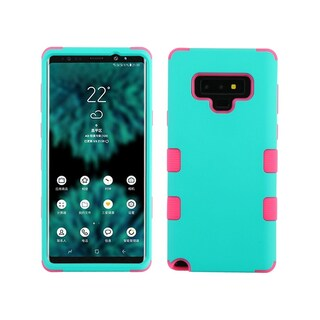Insten Tuff Dual Layer Hybrid PC/TPU Rubber Case Cover for Samsung Galaxy Note 9