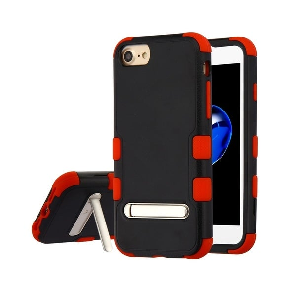 Insten Tuff Dual Layer Hybrid Stand PC/TPU Rubber Case Cover for Apple iPhone 6/6s/7/8. Opens flyout.