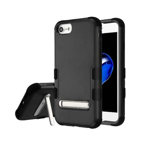 Insten Tuff Dual Layer Hybrid Stand PC/TPU Rubber Case Cover for Apple iPhone 6/6s/7/8