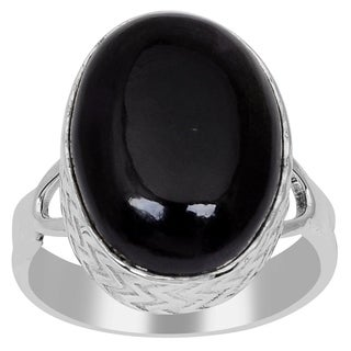 Essence Jewelry 925 Sterling Silver 10 1/2 Carat Sugilite Oval Cabochon Ring