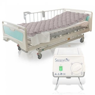 SereneLife Bubble Pad Hospital Bed Mattress 30mm thick with Electric Air Pump