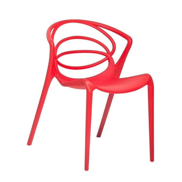 Terrific Shop Bend Red Plastic Living Dining Room Chair Free Forskolin Free Trial Chair Design Images Forskolin Free Trialorg
