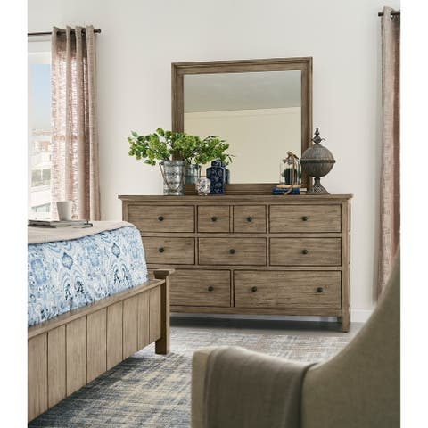 Hideaway Collection Orchard Grey Dresser