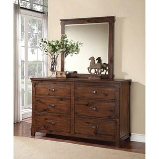 Restoration Collection Rustic Walnut Dresser