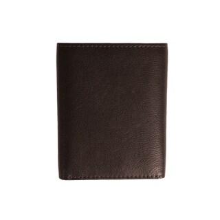 U.S. Polo Assn. Antique Trifold Men's Crunch Wallet