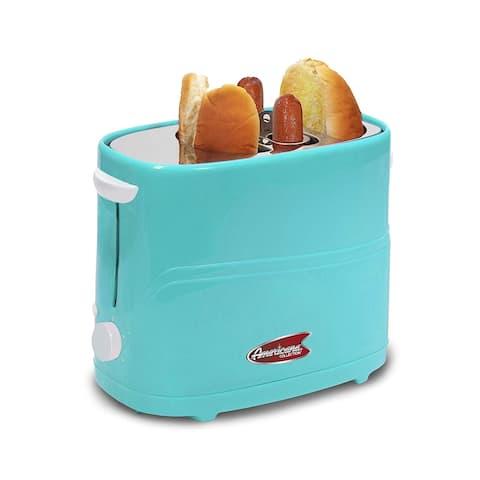 Elite ECT-542BL Americana Hot Dog Toaster, Blue