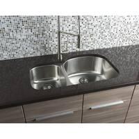 Hahn 30/70 Stainless Steel Sink - 16 Gauge