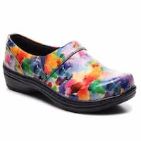 Klogs USA Mission Women's Clog Shoes Watercolor Patent