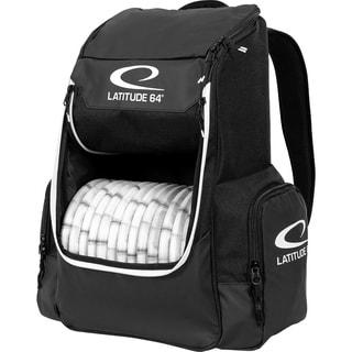 Latitude 64 Core Backpack Disc Golf Bag (Black)