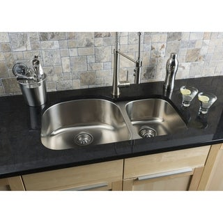 Link to Hahn 70/30 Stainless Steel Sink - 18 Gauge Similar Items in Sinks