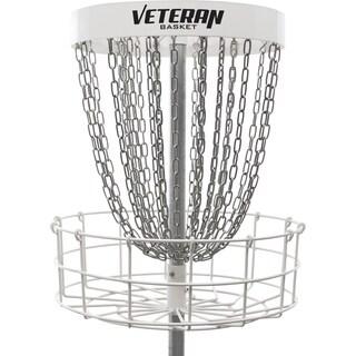 Dynamic Discs Veteran Basket Portable Disc Golf Target (White) - WHITE