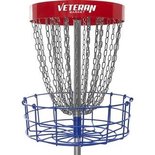 Dynamic Discs Veteran Basket Portable Disc Golf Target (Red/White/Blue) - multi