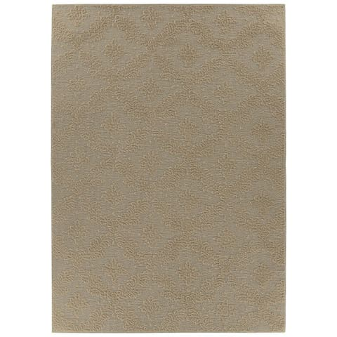 Charleston Tan Living Room Area Rug