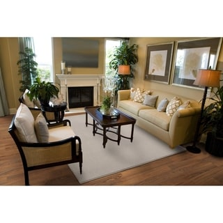 Plush Remnant Earth-Tone  Living Room Area Rug