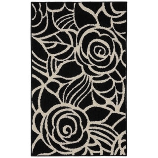 Rhapsody Black/Ivory  Living Room Area Rug