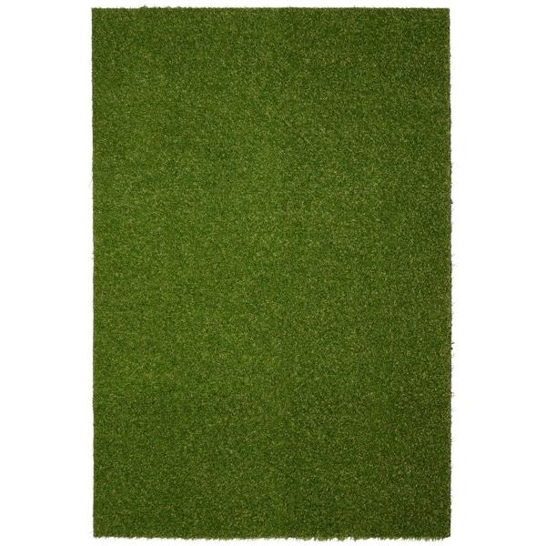 Shop Realistic Artificial Grass Turf Indooor Outdoor Area Rug