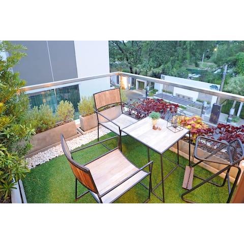 Realistic Artificial Grass Turf Indooor /Outdoor Area Rug