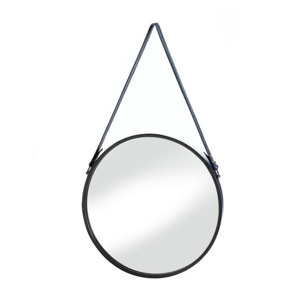 Shop Accent Plus Mid Century Modern Style Hanging Mirror With Faux