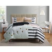 Carson Carrington Tomso Geometric Comforter - Multi-color