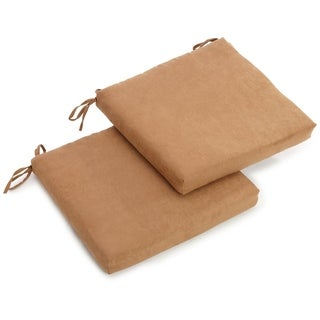 Link to Blazing Needles 20-inch Microsuede Chair Cushion (Set of 2) Similar Items in Table Linens & Decor