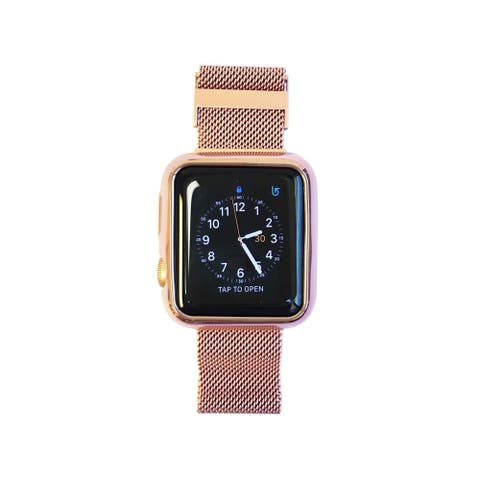 Apple Watch Face Cover and Band All-in-One in Rose Gold