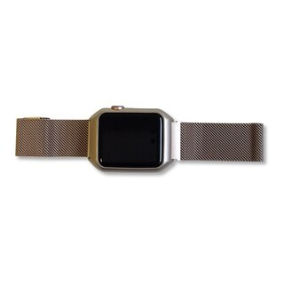 Apple Watch Face Cover and Band All-in-One in Matte Gold
