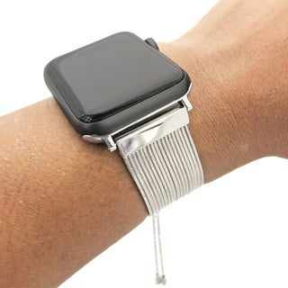 Multiple Strand Toggle Apple Watch Band in Silver - Series 1, 2, 3, 4