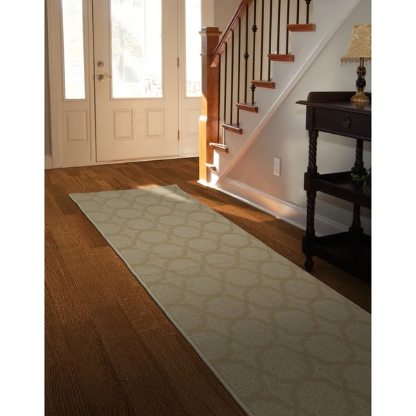 Sparta Tan Large Living Room Area Rug Runner