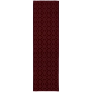 Sparta Chili Red Large Living Room Area Rug Runner