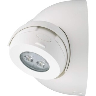 Lithonia Lighting ELM6L UVOLT LTP SDRT Emergency Sign, White