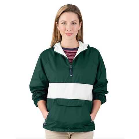 Charles River Apparel Women's Striped Pullover