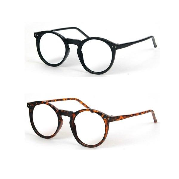 540c96d7a52 Shop Classic Retro Fashion Round Frame Sunglasses P1123CL - Free ...