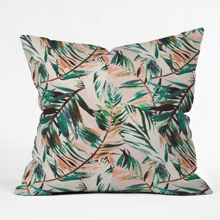 Deny Designs Tropical Reversible Indoor/Outdoor Throw Pillow (4 sizes)