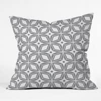 Deny Designs Star Grey Reversible Indoor/Outdoor Throw Pillow (4sizes)