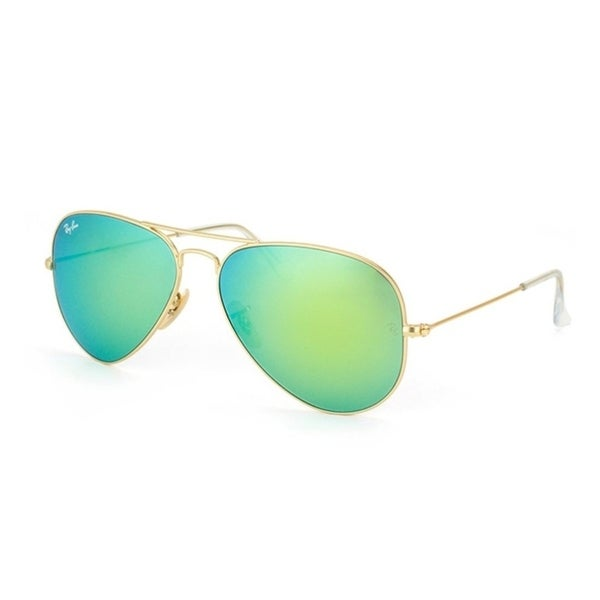 d639e3458c63d Shop Ray-Ban RB3025 Aviator Large Metal Unisex Sunglasses - Gold - Free  Shipping Today - Overstock.com - 25693900