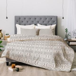 Deny Designs Black Dot 3-Piece Comforter Set