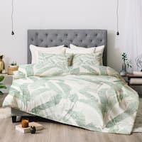 Deny Designs Banana Leaf 3-Piece Comforter Set