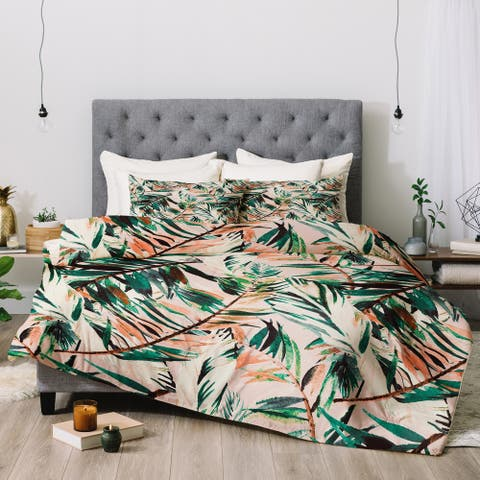 Deny Designs Tropical 3-Piece Comforter Set