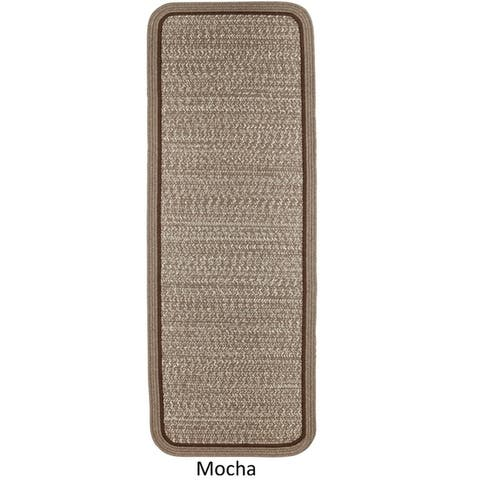 Seaport Wool Blend Reversible Braided Rug