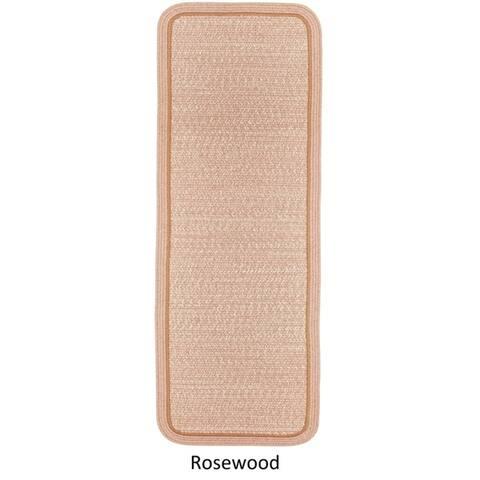 Seaport Wool Blend Reversible Braided Rug