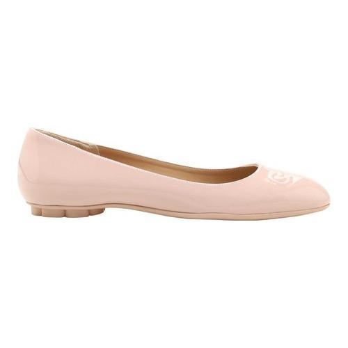 f7788fdab Shop Women's Salvatore Ferragamo Broni Gancini Patent Leather Ballet Flat  Bon Bon Patent Leather - Free Shipping Today - Overstock - 21856565