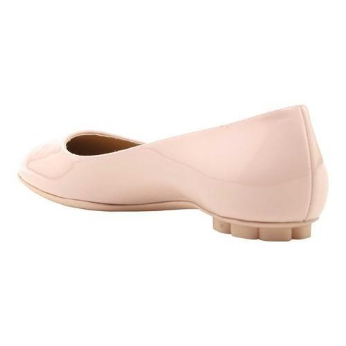 6ecfd6688e9 ... Thumbnail Women  x27 s Salvatore Ferragamo Broni Gancini Patent Leather Ballet  Flat Bon Bon