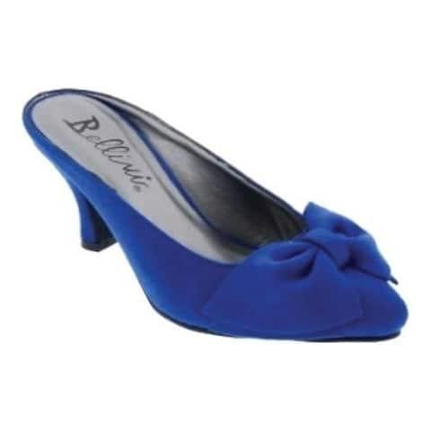 Women's Bellini Cheer Bow Mule Royal Blue/Blue Microsuede