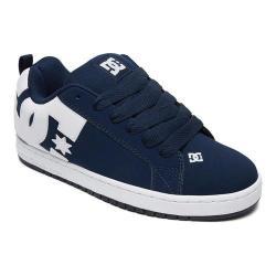 Men's DC Shoes Court Graffik Navy/White
