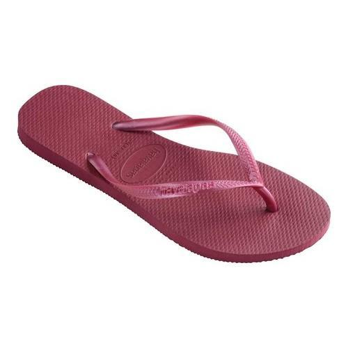 fba869582 Shop Women s Havaianas Slim Beet - On Sale - Free Shipping On Orders Over   45 - Overstock - 21871209