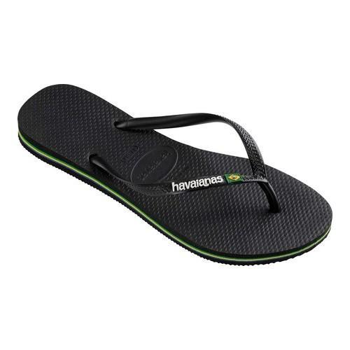 044214a8f Shop Women s Havaianas Slim Brazil Flip Flop Black - Free Shipping On  Orders Over  45 - Overstock - 21871216