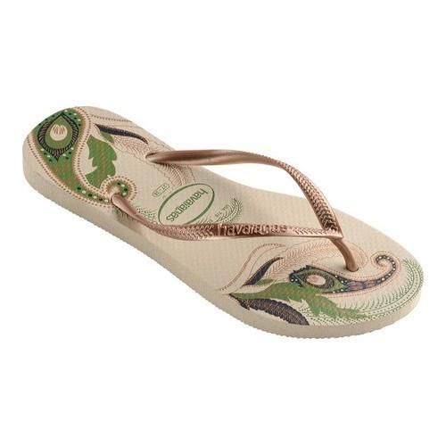 6926c0e15079 Shop Women s Havaianas Slim Organic Flip Flop Beige - Free Shipping On  Orders Over  45 - Overstock - 21871224